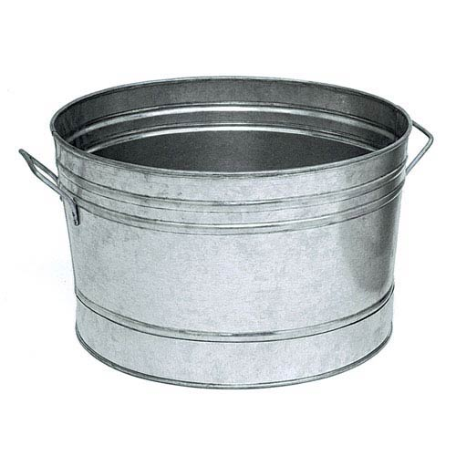 ACHLA Designs Round Steel Tub