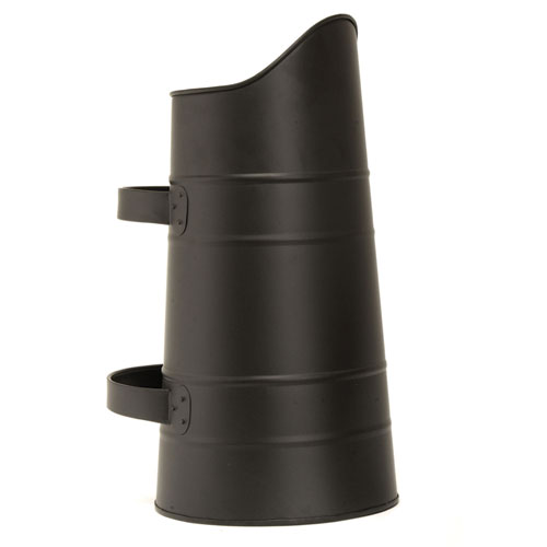 Black Scuttle Watering Can