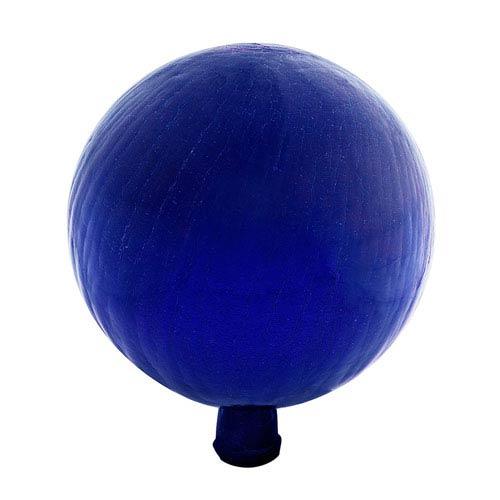 Blue Crackle 12-Inch Gazing Globe
