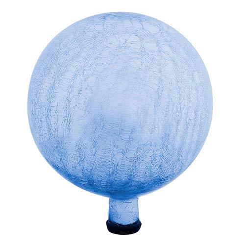 Blue Lapis Crackle 12-Inch Gazing Globe