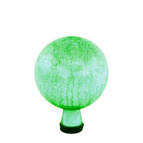 ACHLA Designs 6 Inch Gazing Globe, Light Green, Crackle - Globe Only