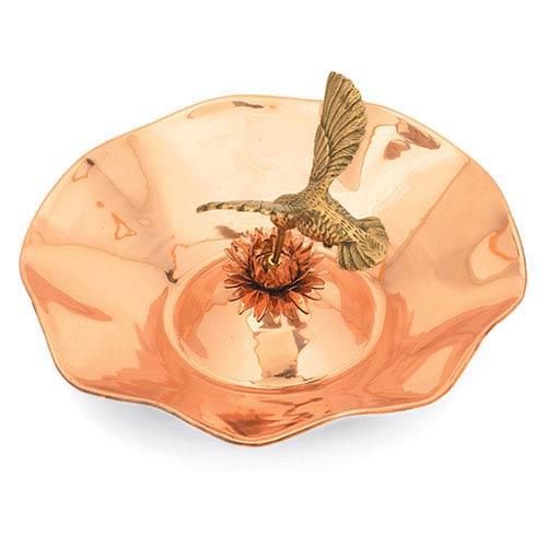 ACHLA Designs Hummingbird Birdbath