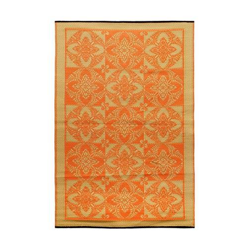 Primrose 4 x 6 Floor Mat Saffron