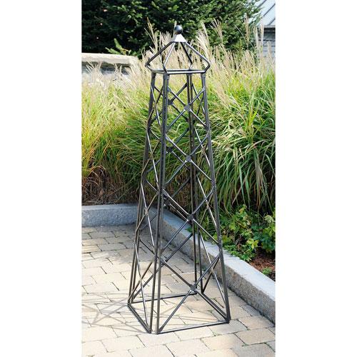 Achla Designs Wrought Iron Lattice Obelisk Obl 25 Bellacor
