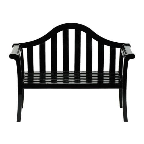 Camelback Black Bench