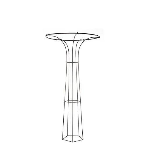 ACHLA Designs Mushroom I Wrought Iron Trellis
