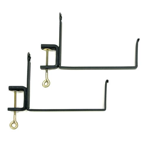 ACHLA Designs Clamp-On Flower Box Brackets