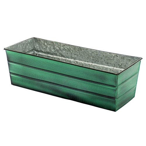 Galvanized Tin Window Box Standard