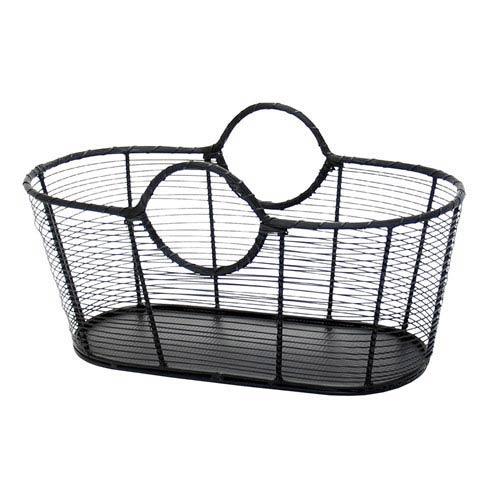 Small Wrought Iron Steel Harvest Basket
