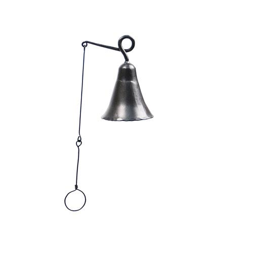 ACHLA Designs Wrought Iron Bell, Small