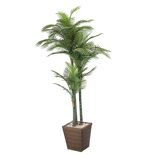 D & W Silks 7 Ft. Palm in Basket