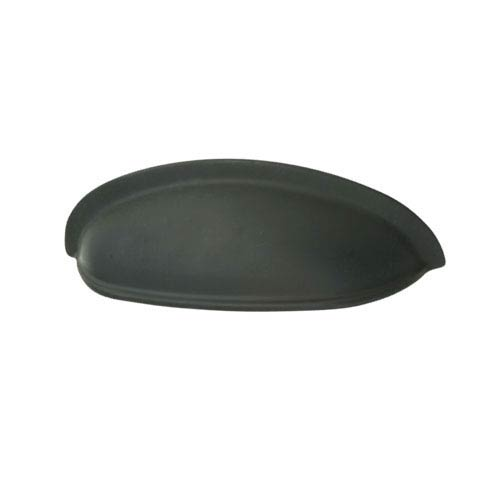 Black 3-Inch Shallow Cup Pull
