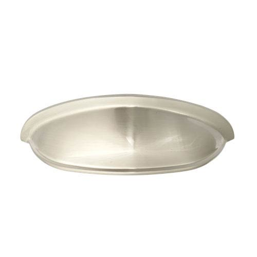Stainless Steel 3-Inch Shallow Cup Pull Solid