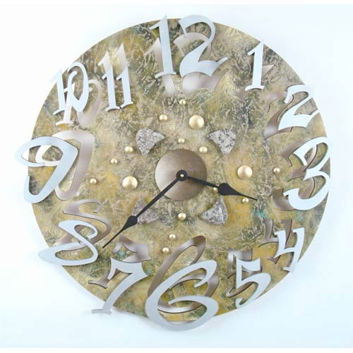 Big Time Stone Wall Clock by David Scherer