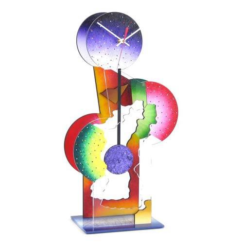 Cactus Boy Table Clock by David Scherer