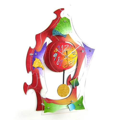 Color Wall Clock by David Scherer