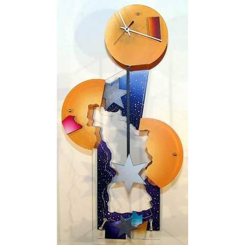 Desert Star Wall Clock by David Scherer