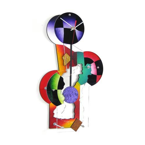 Jester Wall Clock by David Scherer
