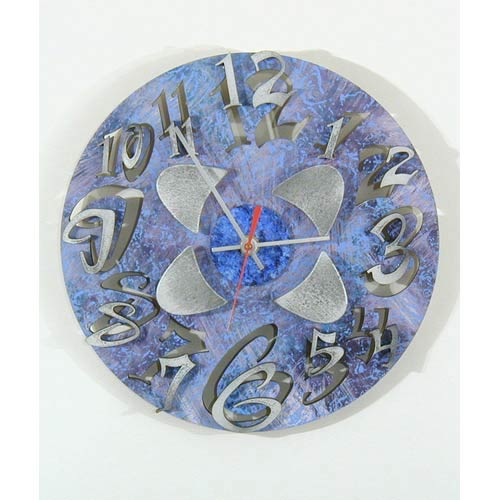 Mod Disk 2 Wall Clock by David Scherer