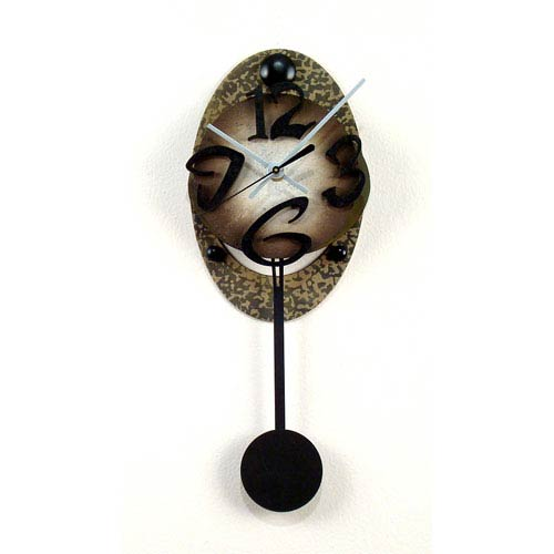 David Scherer Studios Oval Wall Clock
