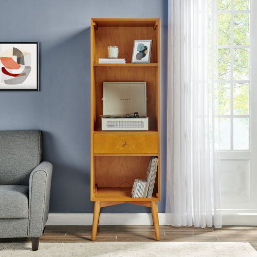 Landon Acorn Record Storage Bookcase