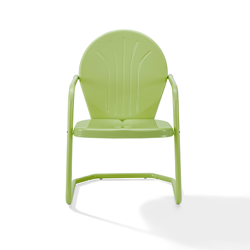 Griffith Key Lime Steel Outdoor Chair