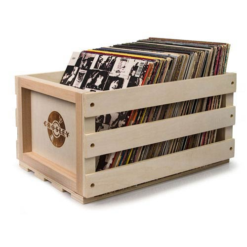 Crosley Radio Record Storage Crate