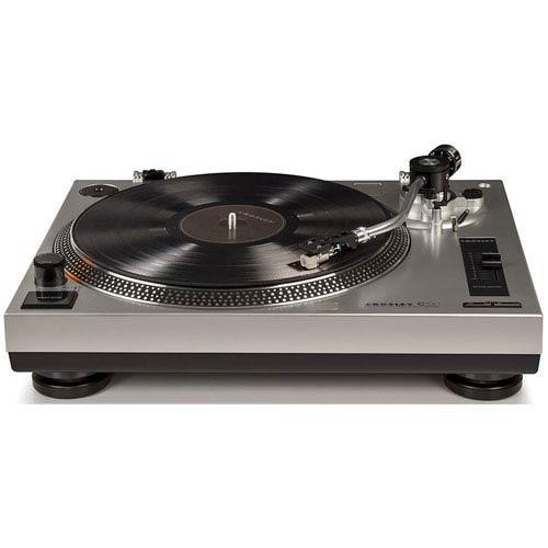 Crosley Radio C100 Silver Turntable