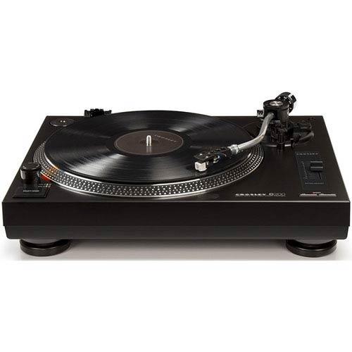 Crosley Radio C200 Black Turntable