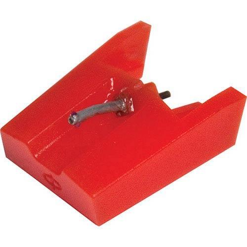 Diamond Stylus Replacement Needle, Red