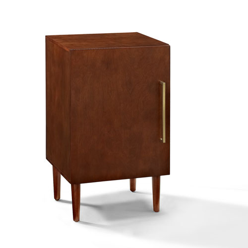 Crosley Furniture Everett Mahogany Record Player Stand