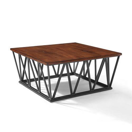 Travis Mahogany Coffee Table