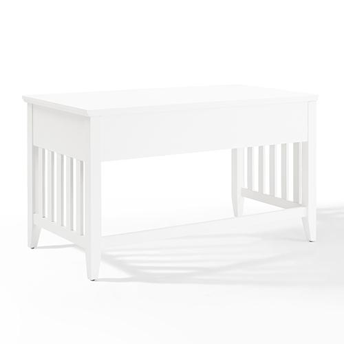 Crosley Furniture Adler Computer Desk In White Finish