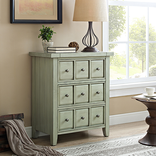 Sienna Accent Chest in Sage