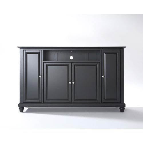 Cambridge 60-Inch TV Stand in Black Finish