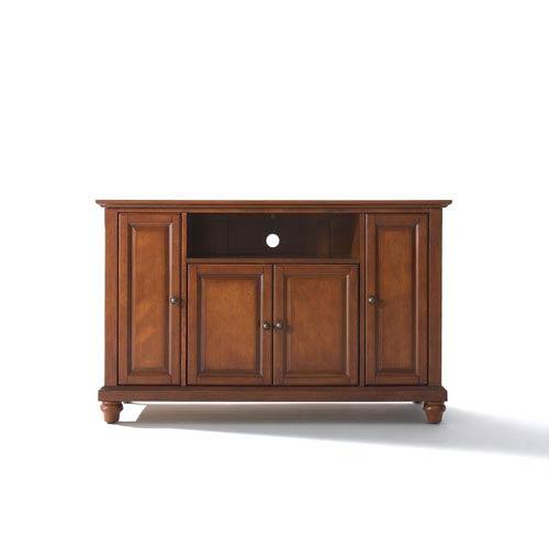Crosley Furniture Cambridge 48-Inch TV Stand in Classic Cherry Finish