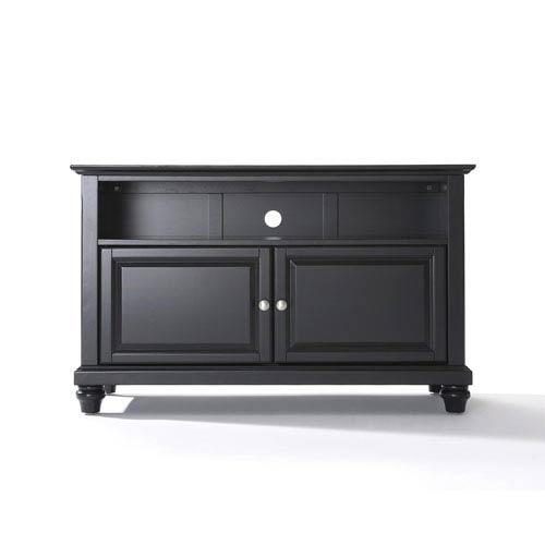 Crosley Furniture Cambridge 42 Inch Tv Stand In Black Finish