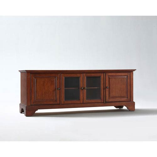LaFayette 60-Inch Low Profile TV Stand in Classic Cherry Finish