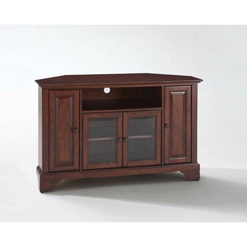 Lafayette 48 Inch Corner Tv Stand In Vintage Mahogany Finish