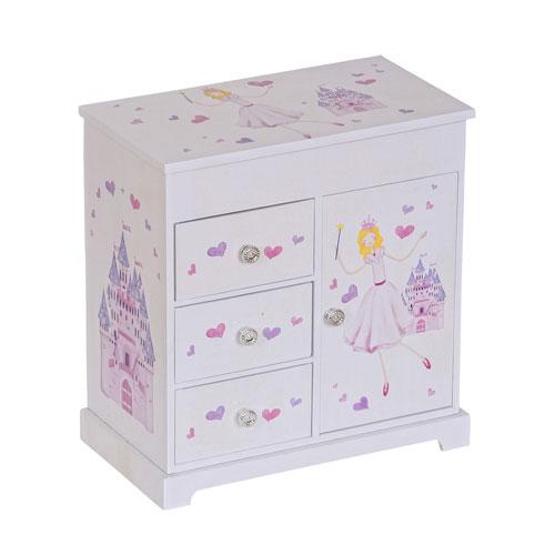 Adalyn Girls Musical Ballerina Jewelry Box