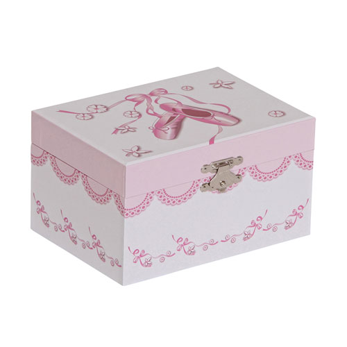Mele & Co. Clarice Girls Musical Ballerina Jewelry Box