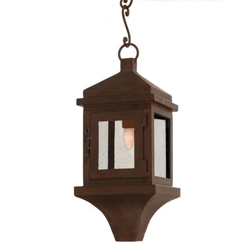 Santangelo Lighting & Design Hacienda Standard Powder Coat One-Light Outdoor Pendant