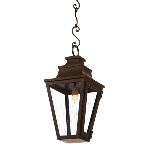 San Miguel Collection Standard Powder Coat One-Light Outdoor Pendant