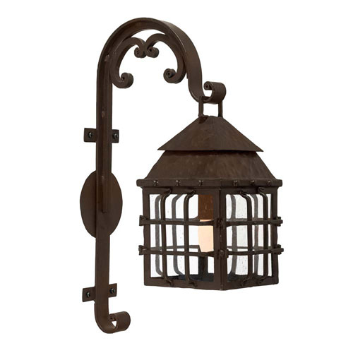 Seville Collection Standard Powder Coat Nine-Inch One-Light Wall Mount