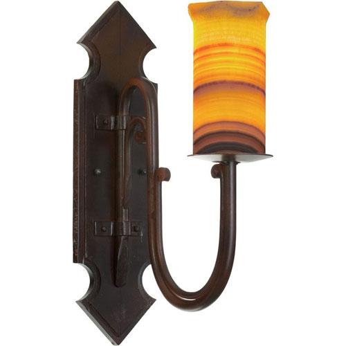 Santangelo Lighting & Design Trevi Bronze One-Light Wall Sconce