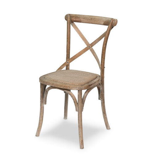Whitewash Tuileries Side Chair- Set of Two