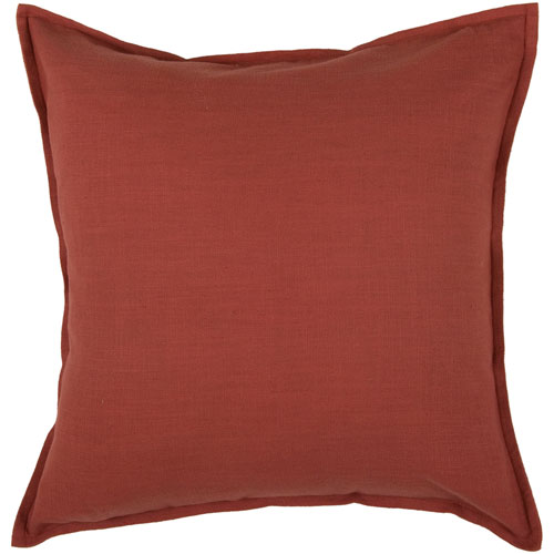 Rizzy Rugs Rizzy Home Paprika 20 Inch x 20 Inch Pillow with Hidden Zipper