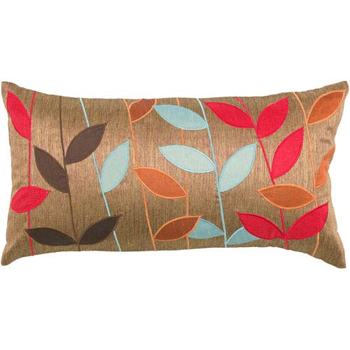 Rizzy Rugs Home Copper 11 Inch X 21 Pillow Cover With Hidden Zipper