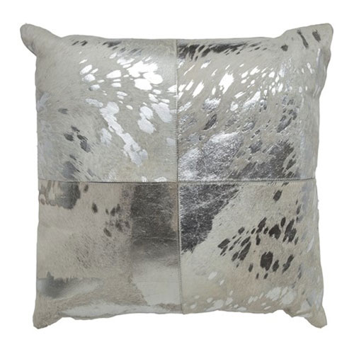 Canaan Silver 20 In. Decorative Pillow