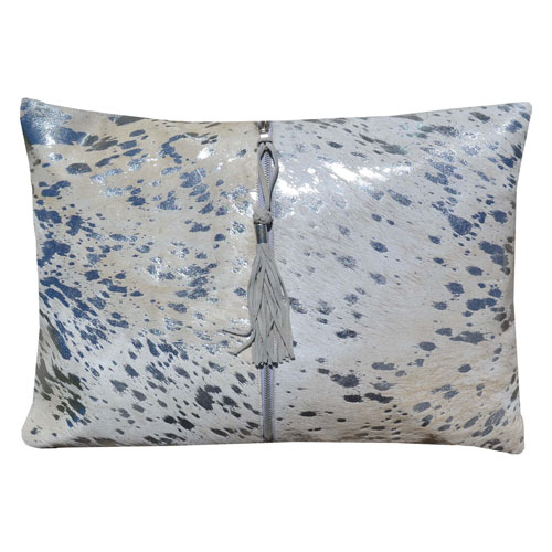 Canaan Silver 14 x 20 In. Decorative Pillow